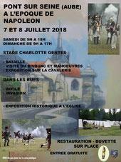 Pont sur seine le 7 et 8 juillet 2018