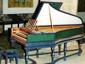 zweimanualiges Cembalo nach Hieronymus Albrecht Hass, Hamburg 1743