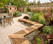 Diseños de jardines.