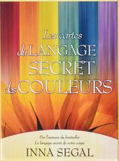 Les cartes du langage secret des couleurs, Pierres de Lumière, tarots, lithothérpie, bien-être, ésotérisme