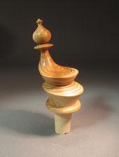 Flaschenverschluss aus Akazienholz