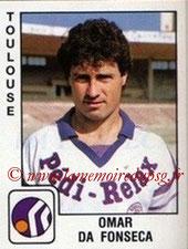 N° 360 - Omar DA FONSECA (1985-86, PSG >1989-90, Toulouse)