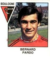 N° 469 - Bernard PARDO (1978-79, Boulogne, D2 > 1991-92, PSG)