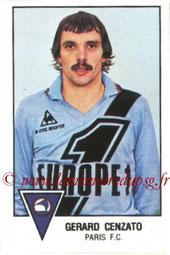 N° 214 - Gérard CENZATTO (1974-77, PSG > 1978-79, Paris FC)
