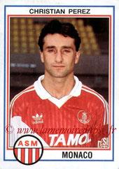 N° 135 - Christian PEREZ (1988-92, PSG > 1992-93, Monaco)