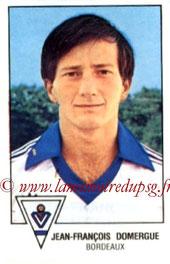 N° 038 - Jean-François DOMERGUE (1978-79, Bordeaux > 1992-Août 2000, Directeur administratif puis directeur général adjoint au PSG)