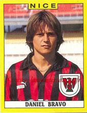 N° 248 - Daniel BRAVO (1988-89, Nice > 1989-96, PSG)