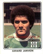 N° 333 - Gérard JANVION (1977-78, Saint Etienne > 1983-85, PSG)