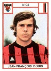 N° 199 - Jean-François DOUIS (1975-76, Nice > 1978-79, PSG)