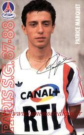 MARQUET Patrice  87-88