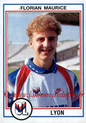 N° 097 - Florian MAURICE (1992-93, Lyon > 1997-98)