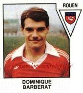 N° 548 - Dominique BARBERAT (1975-77, PSG > 1978-79, Rouen, D2)