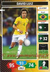 N° 04 - David LUIZ (2014, Brésil > 2014-??, PSG)