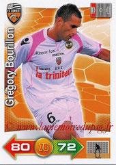 N° 130 - Grégory BOURILLON (2007-10, PSG > 2001-12, Lorient)