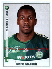 N° 434 - Blaise MATUIDI (2010-11, Saint-Etienne > 2011-??, PSG)