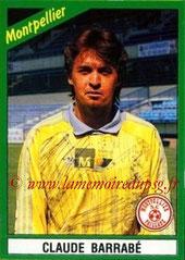 N° 128 - Claude BARRABE (1986-88, PSG > 1990-91, Montpellier)