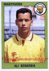 N° 158 - Ali BENARDBIA (1993-94, Martigues > 1999-01, PSG)