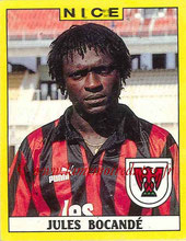 N° 249 - Jules BOCANDE (1986-87, PSG > 1988-89, Nice)
