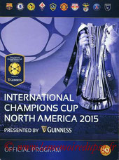 Programme officiel International Champions Cup