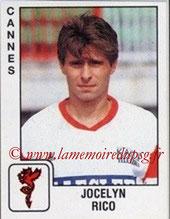 N° 075 - Jocelyn RICO (1988-89, PSG > 1989-90, Cannes)