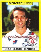 N° 208 - Jean-Claude LEMOULT (1976-86, PSG > 1988-89, Montpellier)