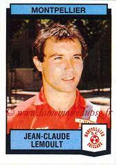 N° 223 - Jean-Claude LEMOULT (1976-86, PSG > 1987-88, Montpellier)