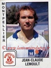 N° 197 - Jean-Claude LEMOULT (1976-86, PSG > 1989-90, Montpellier)