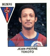 N° 364 - Jean-Pierre TOKOTO (1975-78, PSG > 1978-79, Beziers, D2)