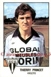 N° 012 - Thierry PRINCET (1978-79, Angers > 1994-13, Diverses fonctions PSG)