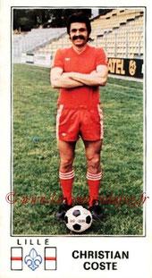 N° 105 - Christian COSTE (1976-77, Lille > 1984-85, Entraîneur PSG)