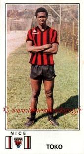 N° 210 - Nambatingue TOKO (1976-77, Nice > 1980-85, PSG > 1989-2008, Superviseur puis entraîneur adjoint PSG)