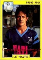 N° 060 - Bruno ROUX (1987-88, PSG > 1991-92, Le Havre)