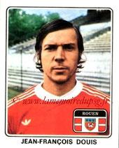N° 311 - Jean-François DOUIS (1977-78, Rouen > 1978-79, PSG)