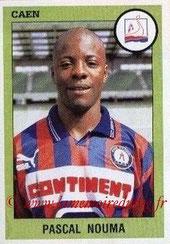 N° 050 - Pascal NOUMA  (1988-92, PSG > 1993-94, Caen > 1994-96,PSG)