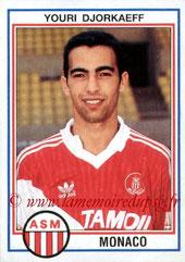N° 140 - Youri DJORKAEFF (1992-93, Monaco > 1995-96, PSG)