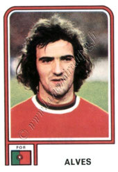 N° 377 - Joao ALVES (1978, Portugal > 1979-80, PSG)