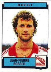 N° 041 - Jean-Pierre BOSSER (1987-88, Brest > 1989-91, PSG)