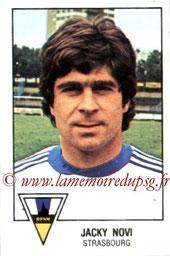 N° 292 -  Jacky NOVI (1974-77, PSG > 1978-79, Strasbourg)