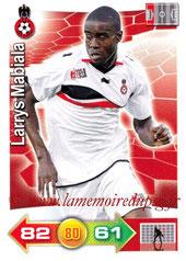 N° 211 - Larrys MABIALA (2002-09, PSG > 2011-12, Nice)