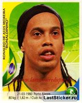 N° 351 - RONALDHINO (2001-03, PSG > 2010, Brésil)