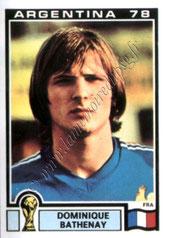 N° 087 - Dominique BATHENAY (1978, France > 1978-85, PSG)
