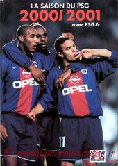 2001-07-xx - La saison du PSG 2000-2001 N°2 (Edition PSG, 82 pages)
