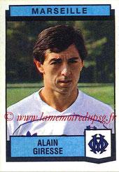 N° 155 - Alain GIRESSE (1987-88, Marseille > Juil à Déc 98, Entraîneur PSG)