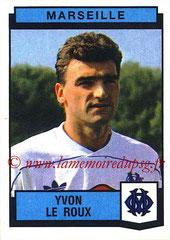 N° 158 - Yvon LE ROUX (1987-88, Marseille > 1989-90, PSG)