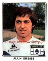 N° 029 - Alain GIRESSE (1977-78, Bordeaux > Juil à Déc 98, Entraîneur du PSG)
