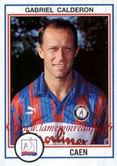N° 036 - Gabriel CALDERON (1987-90, PSG > 1992-93, Caen)