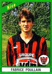 N° 167 - Fabrice POULLAIN (1985-88, PSG > 1990-91, Nice)