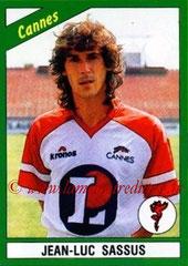 N° 057 - Jean-Luc SASSUS (1990-91, Cannes > 1992-94, PSG)