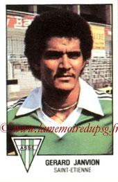 N° 259 - Gérard JANVION (1978-79, Saint Etienne > 1983-85, PSG)