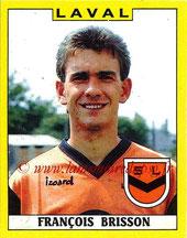 N° 080 - François BRISSON (1975-81, PSG > 1988-89, Laval)